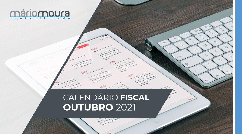 Calendario Fiscal de Outubro